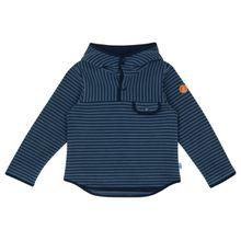 Finkid - Kid's Joki Striped Pixie Hood - Fleecepullover Gr 100/110;110/120;80/90;90/100 rot;blau;türkis