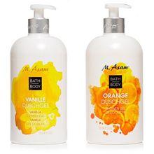 M.ASAM® Duschgel Vanilla & Orange 2x 750ml