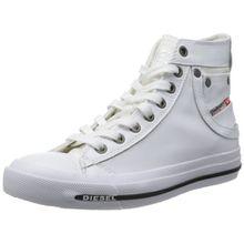 Diesel MAGNETE EXPOSURE IV W Y00638PR052, Damen Sneaker, Weiß (White T1003), EU 41