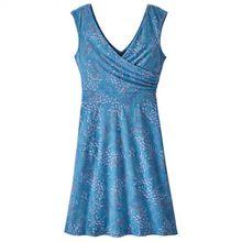Patagonia - Women's Porch Song Dress - Kleid Gr L;M;S schwarz/blau;blau