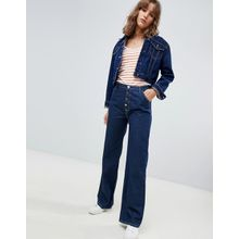 MiH Jeans - The Paradise - Capsule Eco - Jeans mit Knöpfen und hohem Bund - Blau
