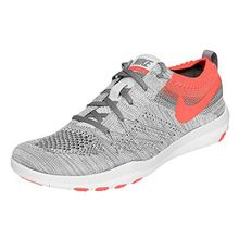 Nike Damen Schuhe / Sneaker Free Focus Flyknit Training grau 38.5