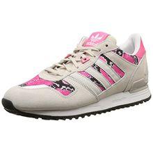 adidas ZX 700, Damen Sneakers, Beige (Pearl Grey S14/Pearl Grey S14/Joy Pink S13), 37 1/3 EU (4.5 Damen UK)