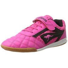 KangaROOS Unisex-Kinder Power Comb EV Sneaker, Pink (Blossom Pink/Jet Black), 28 EU