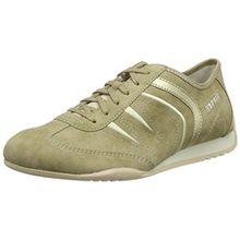 ESPRIT Damen Jay Lace up Sneakers, Beige (240 Taupe), 41 EU