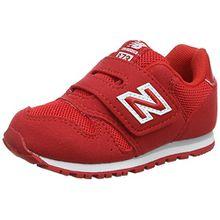 New Balance Unisex-Kinder Kv373v1i Sneaker, Rot (Red), 27.5 EU