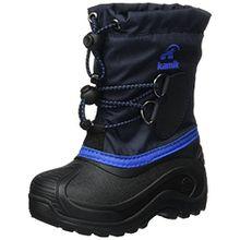 Kamik Unisex-Kinder SOUTHPOLE4 Schneestiefel, Blau (Navy-Marine NAV), 37 EU