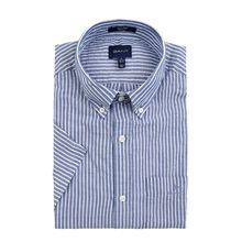 Regular Fit Freizeithemd aus Baumwollmischung mit kurzem Arm