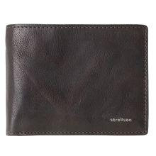 Strellson Jefferson BillFold H8 Geldbörse Leder 12 cm braun Herren