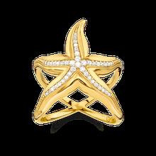 Thomas Sabo Ring gelbgoldfarben TR2184-414-39-48