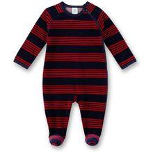 Sanetta Baby Overall mit Fuß - Streifen