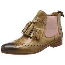 Melvin & Hamilton Damen Selina 5 Stiefel, Beige (Crust/Cashmere/Ela. Rosa/LS Nat. Flex), 36 EU