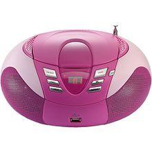 Lenco SCD-37 USB pink pink-kombi