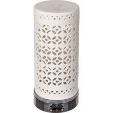 Kunststoff-Luftbefeuchter/Öl-Diffuser, mit 7 farbwechselnden LED ca. 150 ml weiß