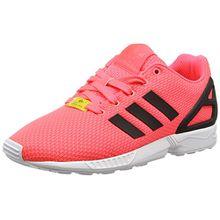 adidas ZX Flux, Unisex-Kinder Sneakers, Rot (Flash Red S15/Core Black/FTWR White), 38 EU (5 Kinder UK)