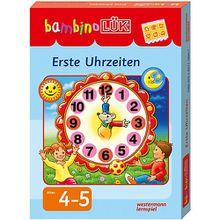 Buch - bambino LÜK: Erste Uhrzeiten