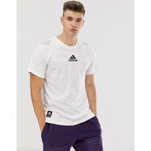 adidas - Performance GRFX - Weißes T-Shirt mit Grafik - Weiß