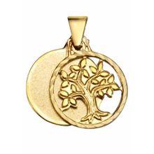 FIRETTI Kettenanhänger »Baum« gold