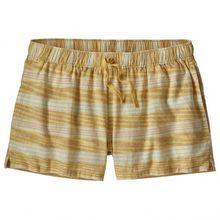 Patagonia - Women's Island Hemp Baggies Shorts - Shorts Gr L;XL beige/braun;beige/grau