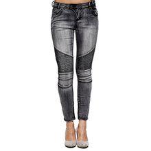 Sublevel Damen 61282 Jeans Grau S