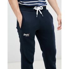 Superdry - Orange - Jogginghose in Marine - Navy