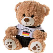 Bär mit Deutschland-Outfit