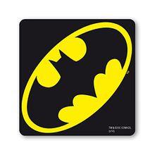 Batman Logo Untersetzer – Bierdeckel – DC-Comics - schwarz - Lizenziertes Originaldesign - LOGOSHIRT