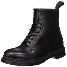 Dr. Martens 1460 MONO Smooth BLACK, Unisex-Erwachsene Combat Boots, Schwarz (Black), 45 EU (10 Erwachsene UK)