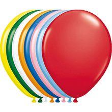 Luftballons, 100 Stück mehrfarbig