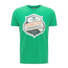 Petrol Industries T-Shirts Petrol Industries MEN T-Shirt hellgrün Herren