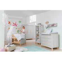 Schardt Kinderzimmer Miami Grey mit 3 türigem Kleiderschrank