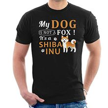 My Dog Is Not A Fox Its A Shiba Inu Men's T-Shirt