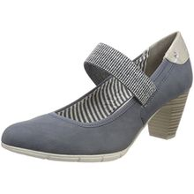 s.Oliver Damen 24407 Pumps, Blau (Denim Comb), 38 EU