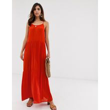 Y.A.S - Mehrlagiges Sommer-Maxikleid - Rot