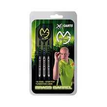 Brass Soft-Darts Tungsten Look Pfeile Michael van Gerwen schwarz