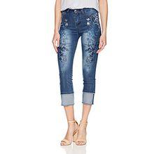 Desigual Damen Slim Jeans DENIM_KAREN, Blau (Denim Dark Blue 5008), W28