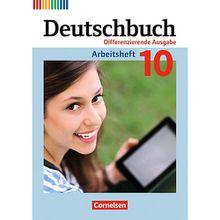 Buch - Deutschbuch, Differenzierende Ausgabe: 10. Schuljahr, Arbeitsheft