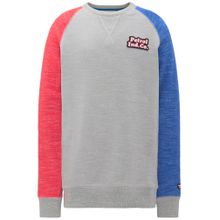 Petrol Industries Sweater blau / grau / rot