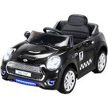 Kinder Elektroauto Mini Cooper 12V, schwarz