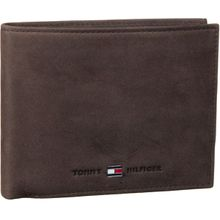 Tommy Hilfiger Geldbörse Johnson Wallet 0665 Brown