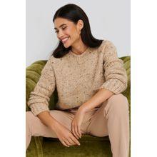 MANGO Napoli Sweater - Beige