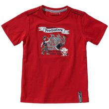 SALT AND PEPPER Jungen T-Shirt 3912166, Gr. 116, Rot (rot)