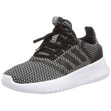adidas Unisex-Kinder Cloudfoam Ultimate Sneaker, Schwarz (Core Black/Core Black/Silver Metallic 0), 34 EU