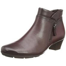 Gabor Emilia, Damen Kurzschaft Stiefel, Rot (Dark Red Leather), 40.5 EU (7 UK)
