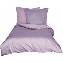 Schöner Wohnen Bettwäsche-Set, 100 Prozent CO, Rose-Schlamm, 220 x 155 cm