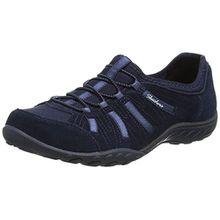Skechers Breathe-EasyBig Bucks Damen Sneakers, Blau (Marineblau), 38 EU