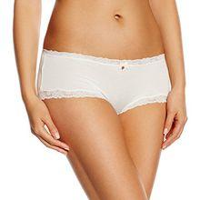 Skiny Damen Panties Soft Harmony Pant, Mehrfarbig, Gr. 42, Elfenbein (IVORY 7608)