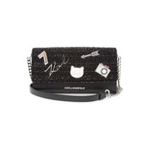 Karl Lagerfeld Umhängetasche K/Klassik Pins Wallet on Chain aus Leder
