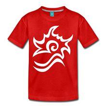 Spreadshirt OSTWIND Aufbruch Nach Ora Brandzeichen Kinder Premium T-Shirt, 134/140 (8 Jahre), Rot