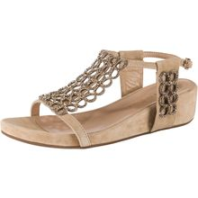 Alma en Pena Klassische Sandaletten beige Damen